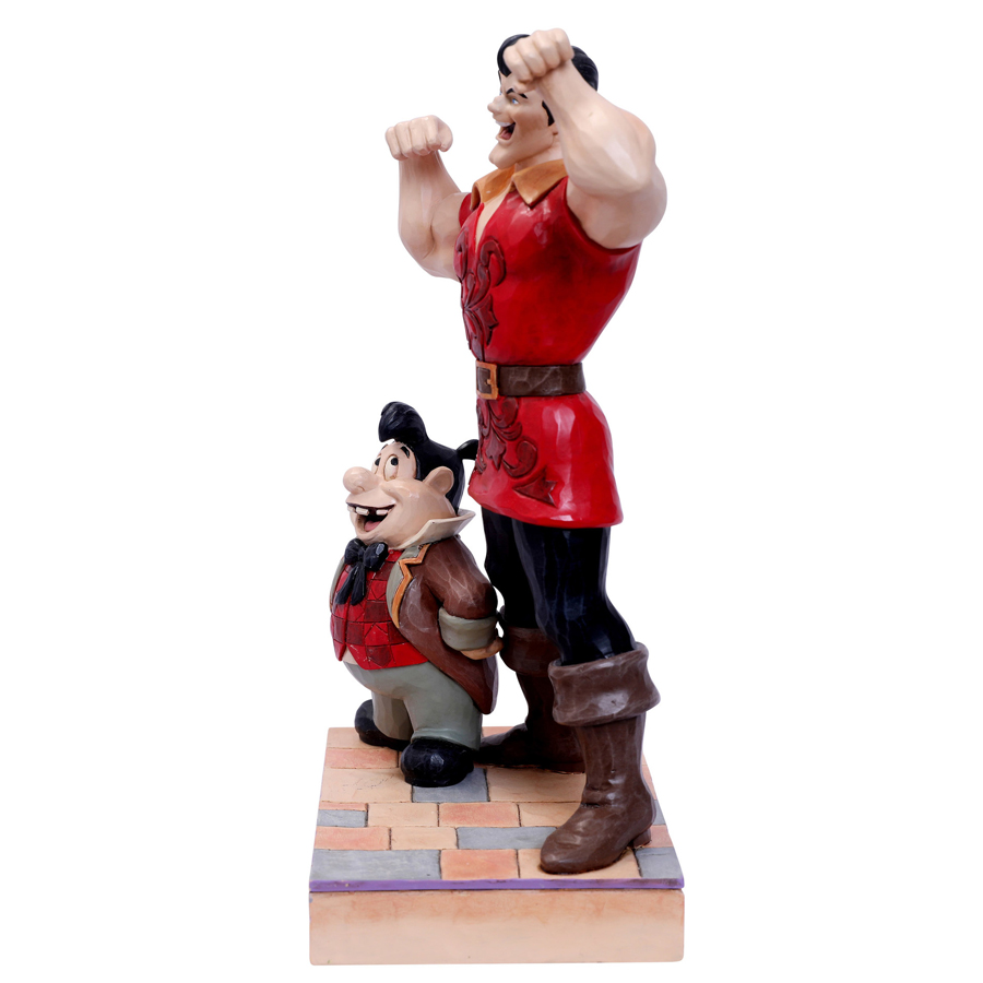 Gaston-and-Lefou-Side-view