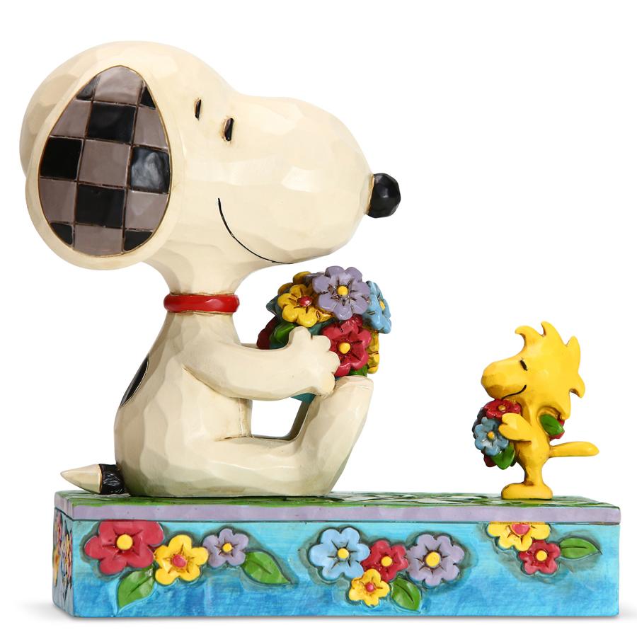 Jim-Shore-Snoopy-Woodstock-Spring